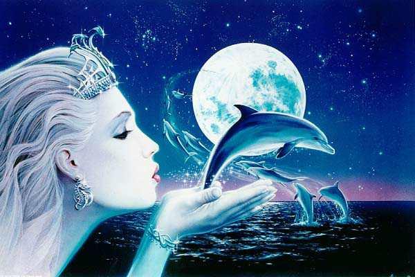 diosa-y-delfines